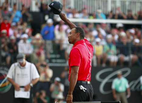 Tiger Woods in 2012