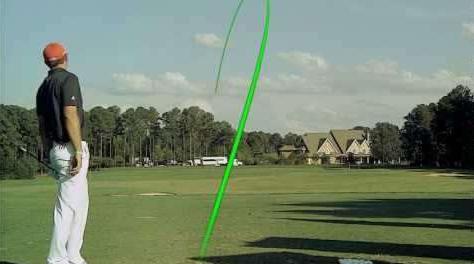golf ball flight