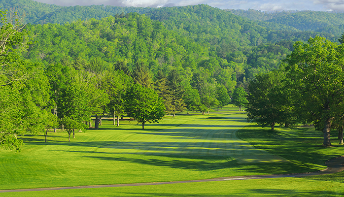 The Old White TPC Course The Greenbrier Resort