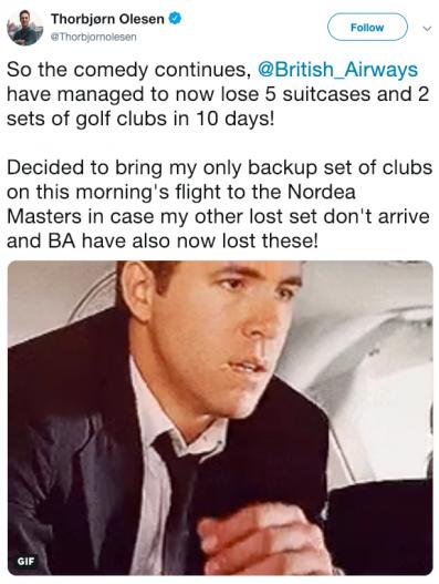 ship my clubs
