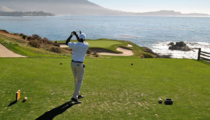 ship my golf clubs to Pebble Beach