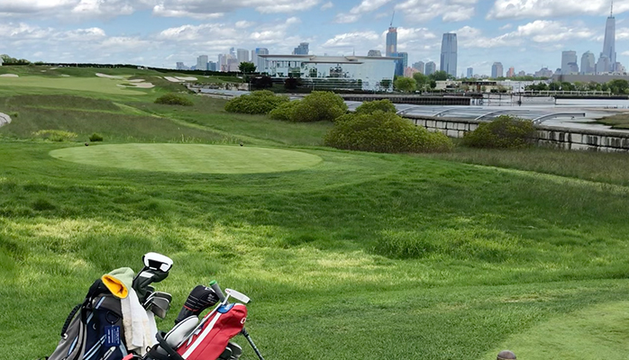 ship my golf clubs to Liberty National