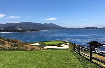 ship my golf clubs to Pebble Beach Golf Links