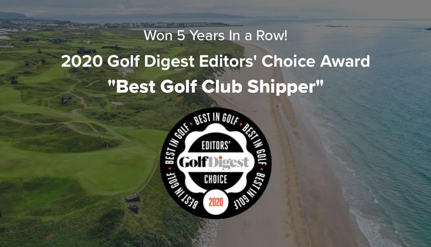 "Ship Sticks Named 2020 ""Best Golf Club Shipper"""