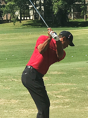 Tiger Woods at Honda Classic