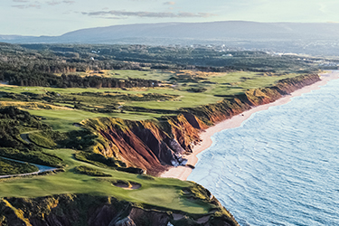 ship my golf clubs to Cabot Links