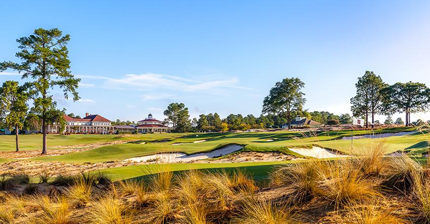 Guys golf trip to Pinehurst, North Carolina
