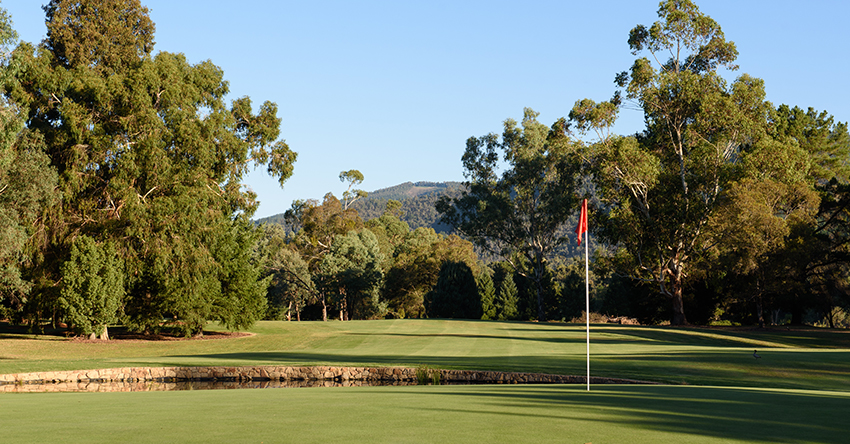 The Royal Melbourne Golf Club - West Course, Melbourne Australia