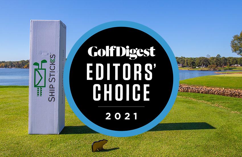 """Ship Sticks awarded """"Best Golf Club Shipper"""" by Golf Digest Editor's Choice Award"""