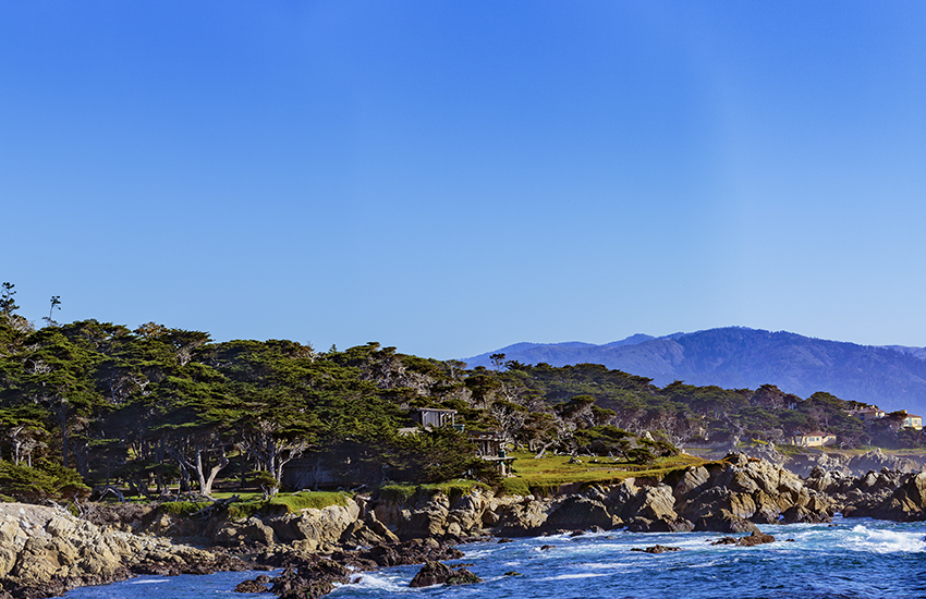 Best western course to golf at is Cypress Point in California