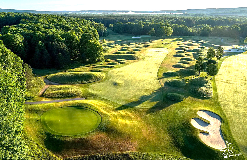 The top midwestern summer golf course to play is at Boyne Golf Resort in Michigan