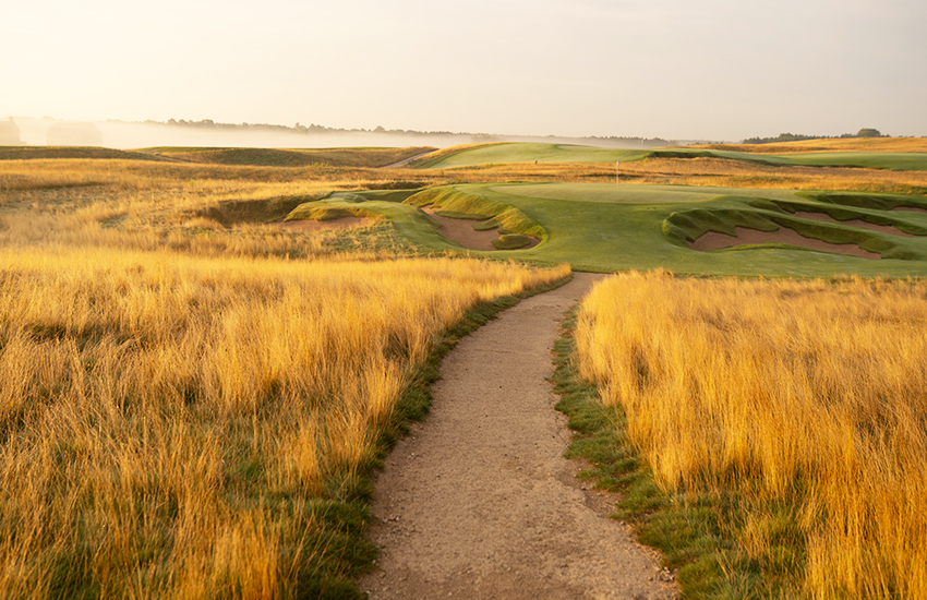 The premier summer golf trip to take is to Erin Hills
