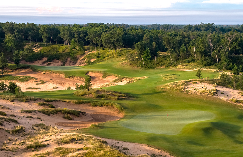 A top summer golf course to play is Sand Valley Golf Resort