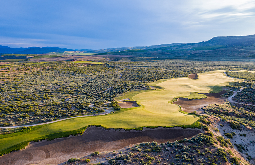 The top golf resort to play this summer is Gamble Sands