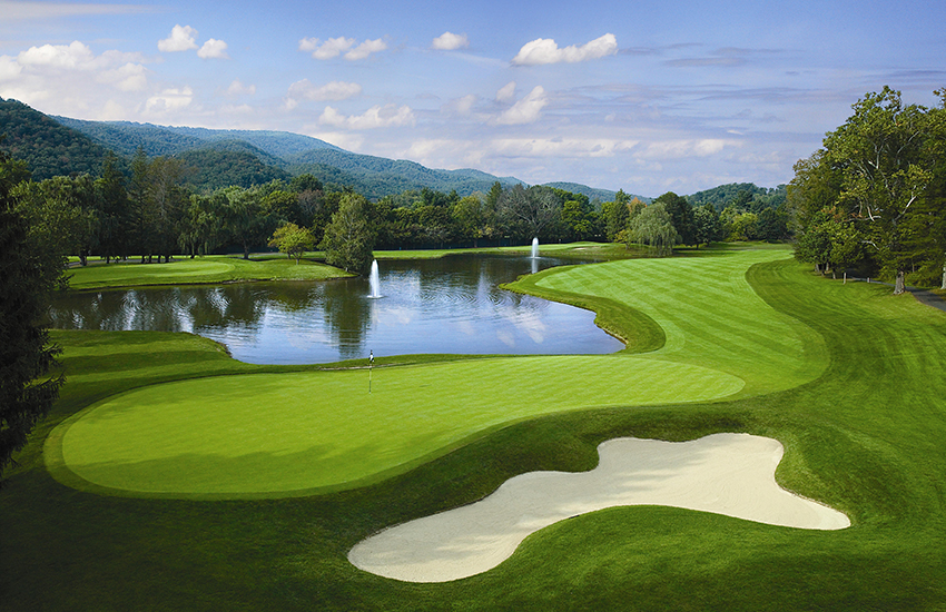 The top place to golf this summer is The Greenbrier in West Virginia