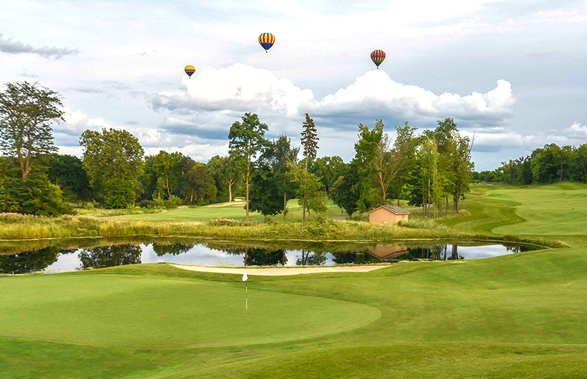 The best golf course to play this summer is Geneva National