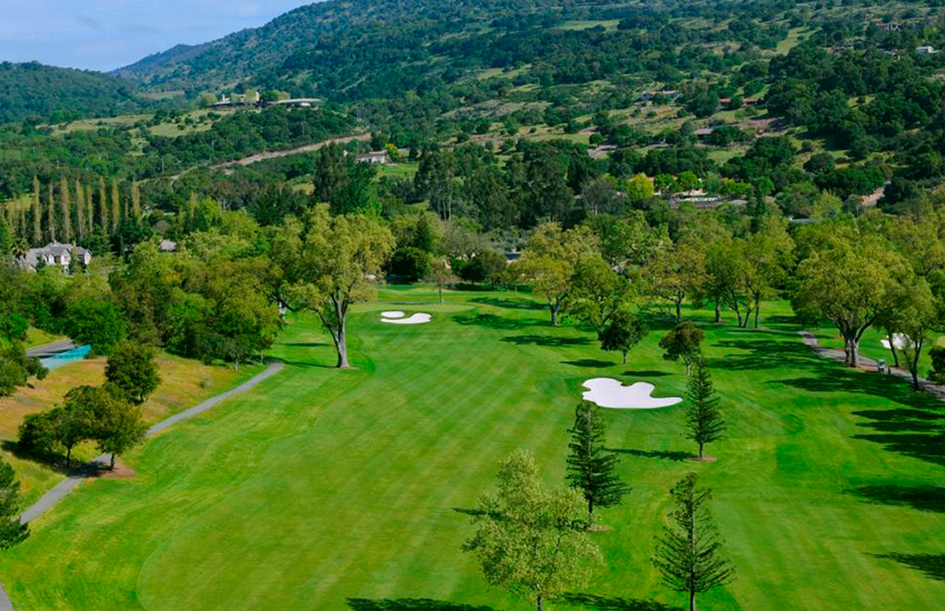 Where to golf at this summer is Silverado Resort